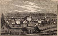 view of Waterbury, 1836