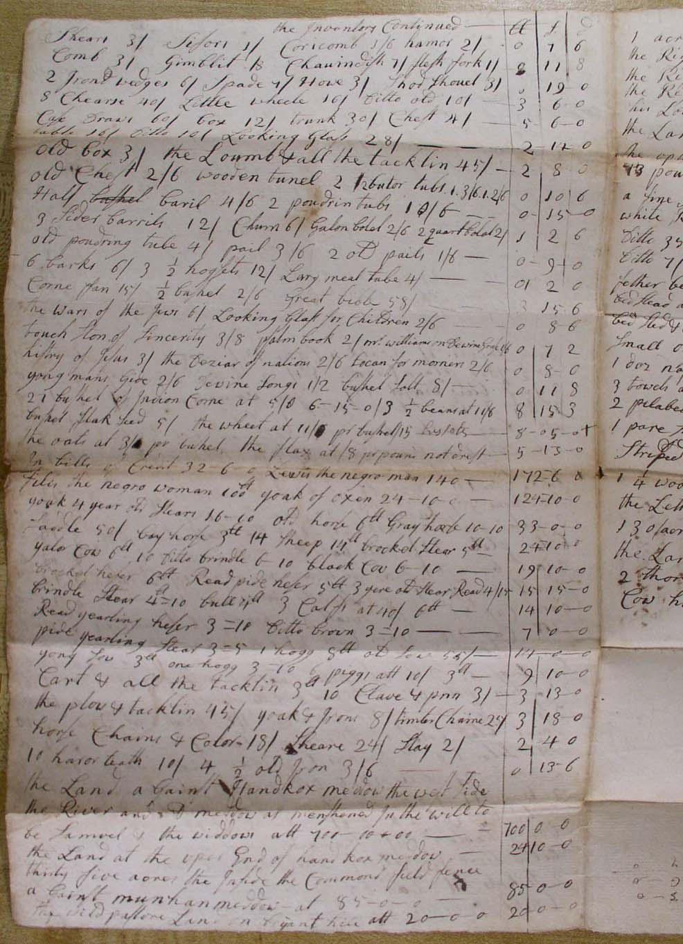Indentured Servant Contract Displaying 19> Imag...